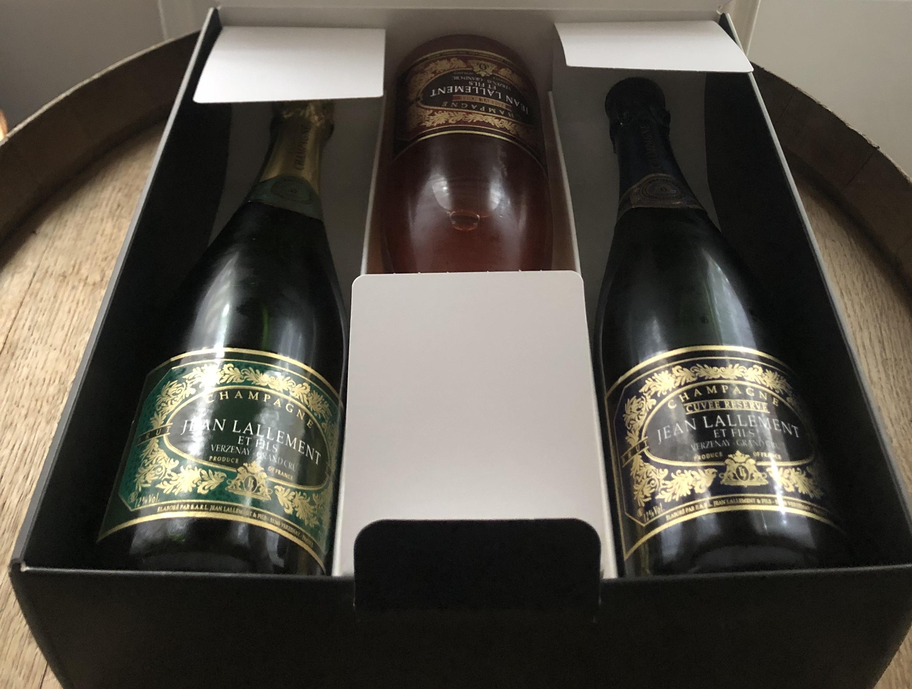 Coffret cadeau :  Tradition + Réserve + Rosé
